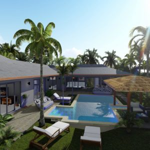 The Palm 3 bedrooms-New Development-Madeua Whan-koh-phangan-real-estate-development-investment-program-thailand-construction-building-villa-house-for-rent-for-sale-business-lease-hold