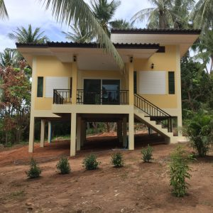 Brand New 2 Bedrooms House -Rentals- Nai Wok-koh-phangan-real-estate-development-investment-program-thailand-construction-building-villa-house-for-rent-for-sale-business-lease-hold