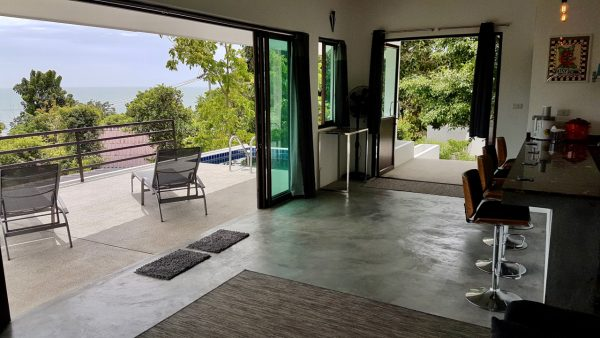 Phangan Development villas for sale-2 Rai with 2 Seaview and Pool Villas - Haad Thonglang-koh-phangan-real-estate-development-investment-program-thailand-construction-building-villa-house-for-rent-for-sale-business-lease-hold