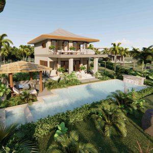 Phangan Development new development for sale-Srithanu Residence 2 bedrooms-Srithanu-koh-phangan-real-estate-development-investment-program-thailand-construction-building-villa-house-for-rent-for-sale-business-lease-hold