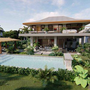Phangan Development new development for sale-Srithanu Residence 3 bedrooms-Srithanu-koh-phangan-real-estate-development-investment-program-thailand-construction-building-villa-house-for-rent-for-sale-business-lease-hold