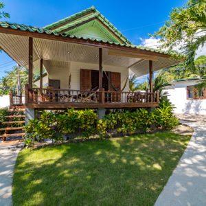 Phangan Development villa for rent-Garden Studio - Hin Kong -koh-phangan-real-estate-development-investment-program-thailand-construction-building-villa-house-for-rent-for-sale-business-lease-hold