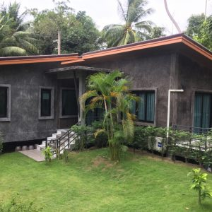 Phangan Development villa for rent-Brand New 2 Bedrooms House Pool With Shared Pool - Madeua Whan-koh-phangan-real-estate-development-investment-program-thailand-construction-building-villa-house-for-rent-for-sale-business-lease-hold