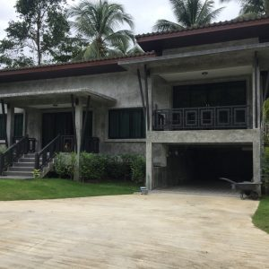 Phangan Development villa for rent-Brand New 3 Bedrooms House Pool With Shared Pool - Madeua Whan-koh-phangan-real-estate-development-investment-program-thailand-construction-building-villa-house-for-rent-for-sale-business-lease-hold