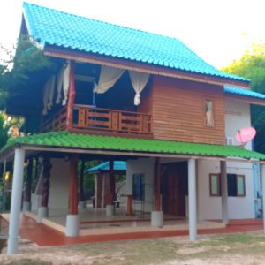 Phangan Development villa for rent-2 Bedrooms House With Huge Open Space - Chalok Ban Kao-koh-phangan-real-estate-development-investment-program-thailand-construction-building-villa-house-for-rent-for-sale-business-lease-hold